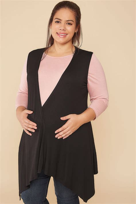 Can You Purchase Items Online With A Visa Gift Card - bump it up black longline sleeveless waterfall wrap plus size 16 to 32
