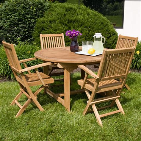Expandable Patio Table Expandable Teak Table Signaturehardware