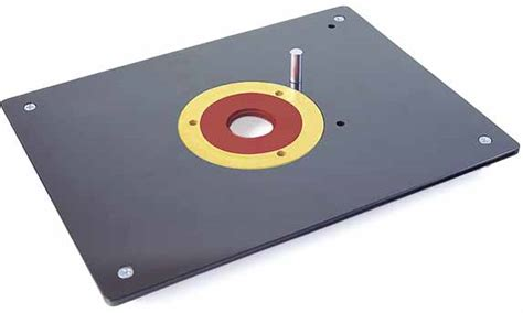 Router Table Plate by Mlcs Router Accessories 1