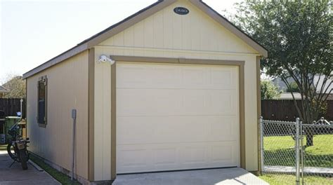 From Portable Garage To Permanent Garage Ulrich Sheds