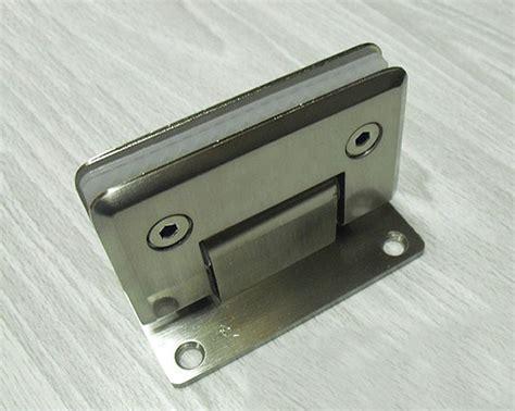 Glass Shower Door Latch Aliexpress Buy Door Hardware Wall Mount Glass Shower Door Hinge 90 Degrees Is Open From
