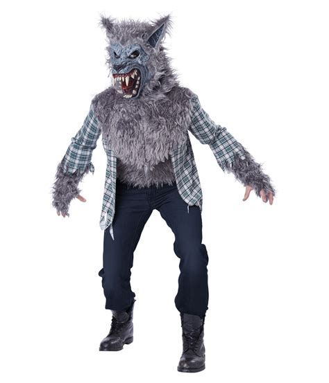 wolf costume blood moon gray costume