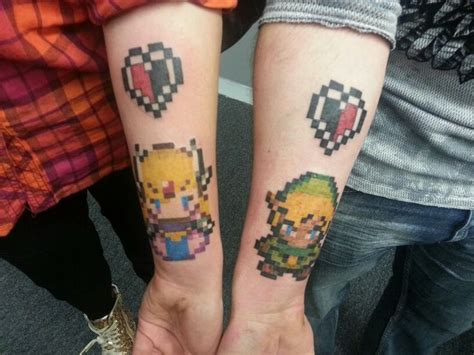 zelda couple tattoos 150 best images about friend tattoos on