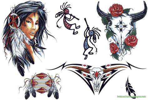 native american indian tattoos designs american designs page 2 best cool