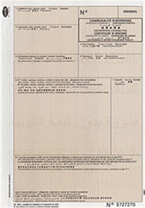 certificat d origine chambre de commerce le certificat d origine chambre de commerce et d