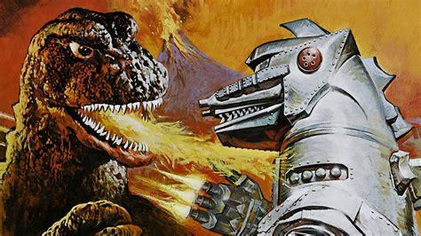 film robot dinosaurus godzilla robot drawing dinosaur wallpaper 1920x1080