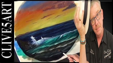 bob ross painting classes seattle summer waves bob ross style acrylic painting for
