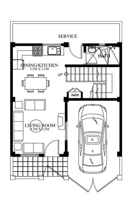 modern ground floor house plans modern house designs series mhd 2012007 pinoy eplans