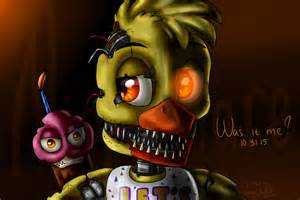 Nightmare chica five nights at freddy s 4 by artyjoyful d8uelth png
