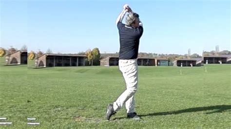 one plane swing pin one plane swing the line 5 iron and driver on