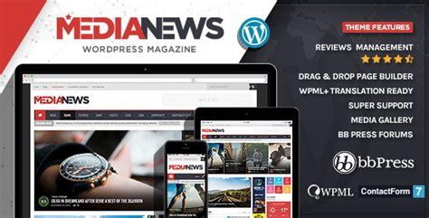 medianews wordpress news magazine blog theme by pixfill