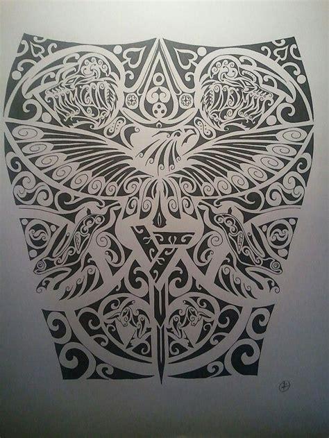 assassins creed tattoo sleeve assassins creed tattoo full sleeve maoris pinterest