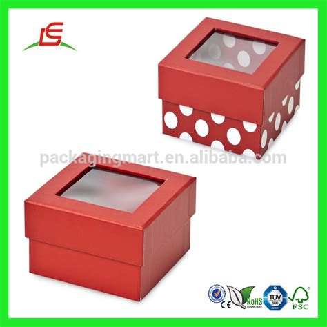 gift box with window lid q981 wholesale fancy cardboard gift boxes with clear