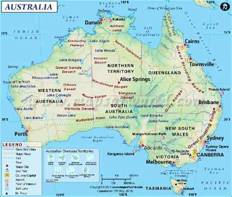 show me the map of australia out virus outbreak attacks australia desert