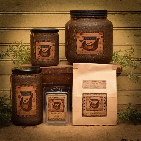 hen house cafe hen house cafe jar candle 16 oz herbal star candles