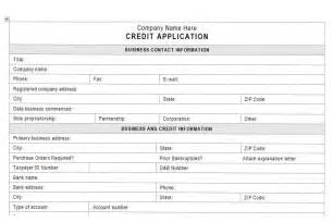 customer credit application form template accounts receivable controls vitalics