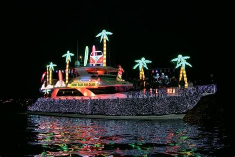 annapolis boat lights parade 2017 best holiday parade winners 2016 10best readers choice