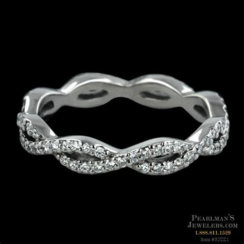 Sholdt Jewelry Diamond Infinity Wedding Band