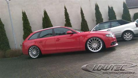 Audi A4 B8 Gewindefahrwerk by Audi A4 Galerie Sj Lowtec Gmbh