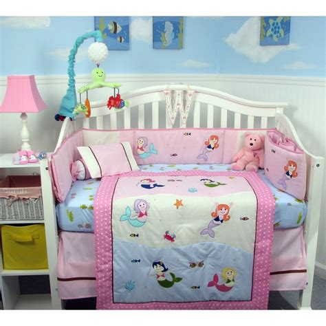 little mermaid crib bedding mermaid nursery decor mermaid baby nursery crib bedding