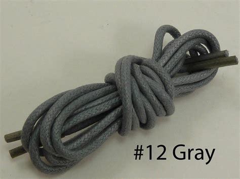 new pair cotton waxed colored dress shoelaces laces 30 quot in 20 color
