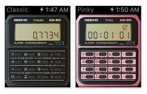 calculator on apple watch casio calculator apple watch app adds a retro feel