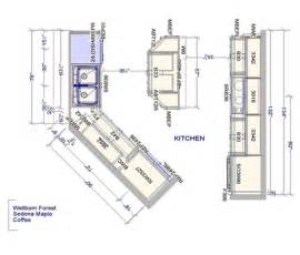 kitchen floor plan dimensions kitchen floor plans casual cottage