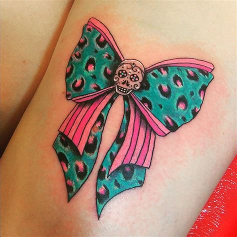 leopard print bow tattoo designs 55 creative cheetah print designs meanings