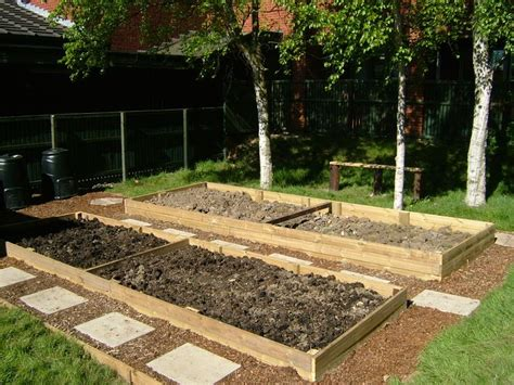 Garden Allotment Ideas Allotment Bed Designs Allotments Pinterest Raised Beds Home And We