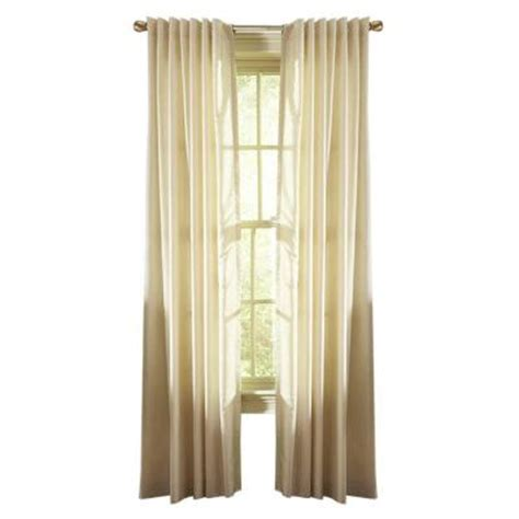 martha stewart window curtains martha stewart living hemp faux silk back tab curtain 50