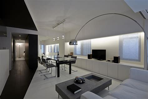 Black And White Apartment Interior Design Black And White Apartment Design Room 407 Project In