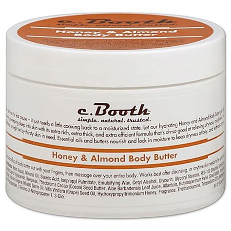 bed and butter c booth honey almond body butter bed bath beyond