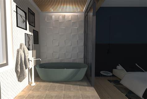 Baignoire 3d by Photos Une Salle De Bain De Suite Parentale Au Design