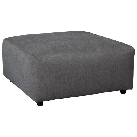 oversized square ottoman ashley signature design jayceon 6490208 contemporary