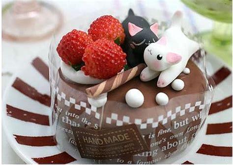 cute desserts super cute japanese handmade desert design swan
