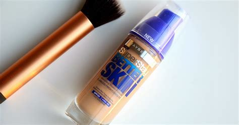 Maybelline Superstay Better Skin Foundation n berries maybelline superstay better skin flawless finish foundation review