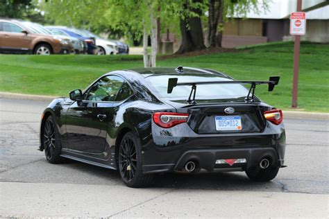 subaru brz all black subaru brz sti first spy shots gtspirit