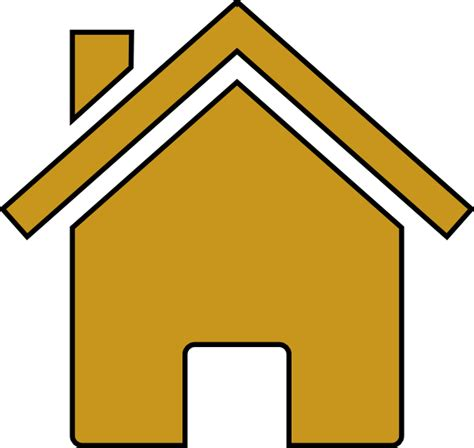 house clip art gold house clip art at clker com vector clip art online royalty free public domain