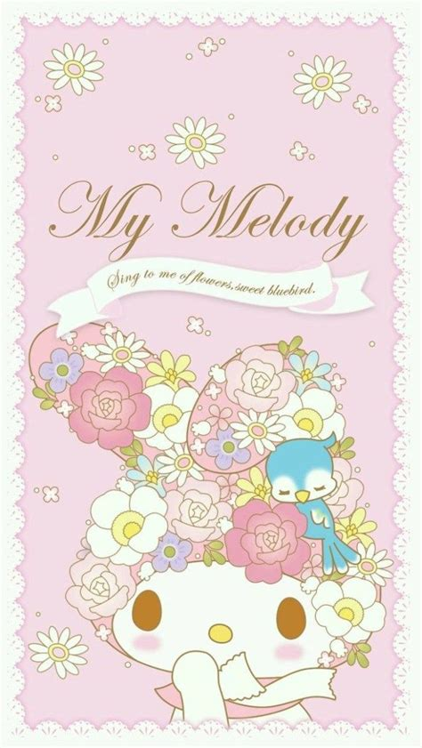 Iphone6 6s My Melody マイメロディ17 iphone壁紙 wallpaper backgrounds iphone6 6s and