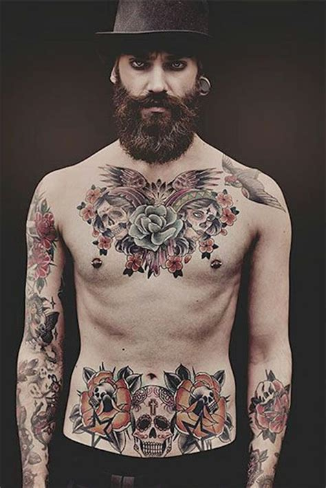 170 best chest tattoos for men women 2017 collection