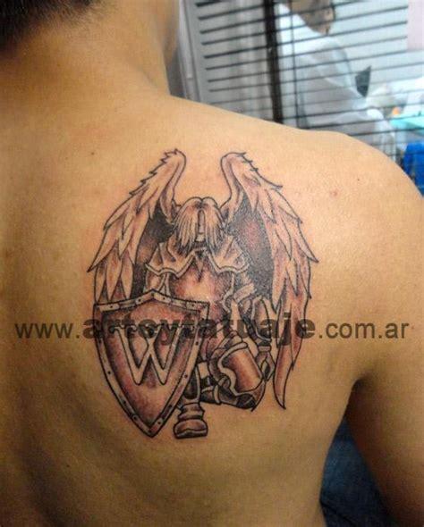 imagenes de tatuajes de un angel tatuaje de angel guerrero arte y tatuaje
