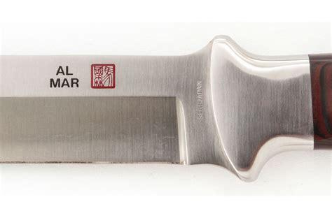 seki japan knife vintage al mar seki japan sere knife