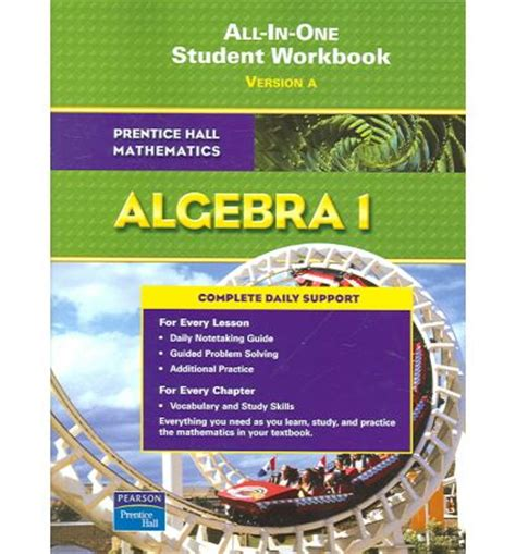 libro student workbook for mathematics prentice hall math algebra 1 student workbook 2007