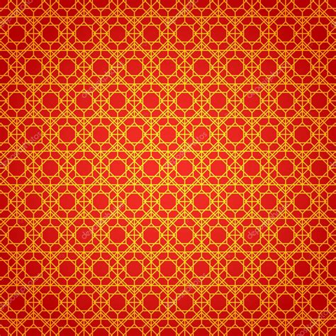 gold red pattern gold and red geometric national chinese seamless pattern
