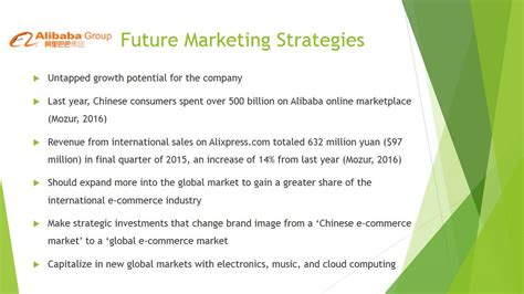 alibaba marketing strategy marketing strategies ppt youtube
