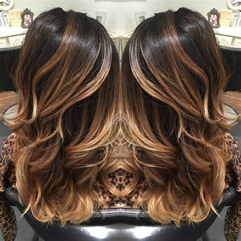 cual es el color balayage highlights balayage dark balayage carmel balayage highlights hair
