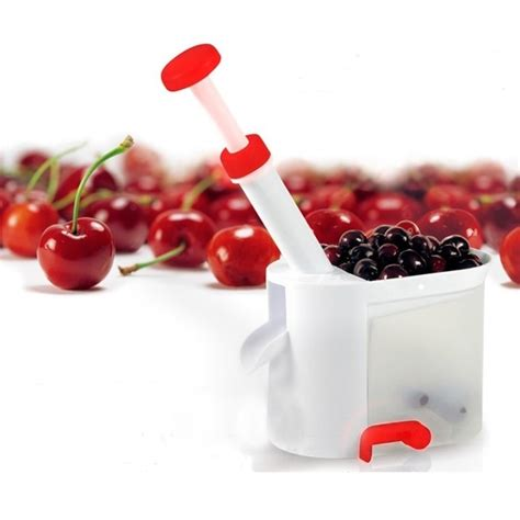 pembuang biji cherry dan anggur bahan plastik white jakartanotebook