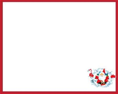 Microsoft Word Santa Letter Template