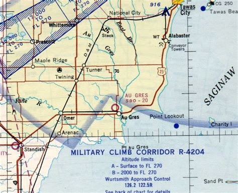 michigan sectional chart abandoned little known airfields northern michigan