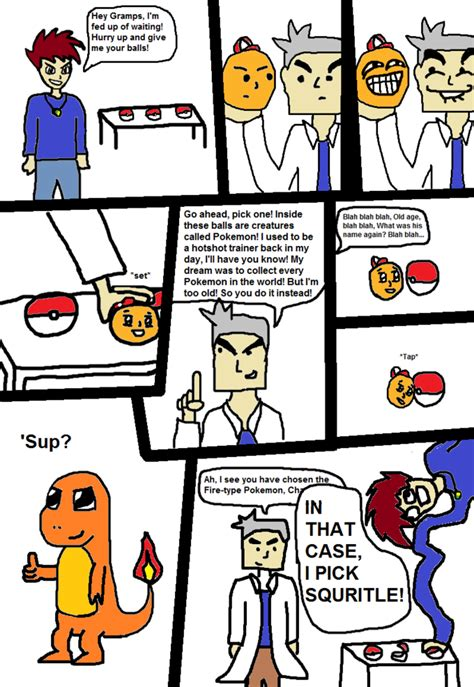 Meme Comic Strip - pokemon comics know your meme
